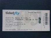 Image of Tickets-Thrashed playing with Static X @ The Chance theater