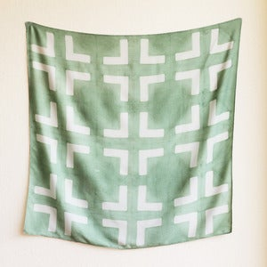Image of Bamboo Scarf - Leaf