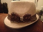 Image of Beige wool Fedora