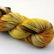 Image of Calendula - Handpainted BFL/Silk Sock Yarn