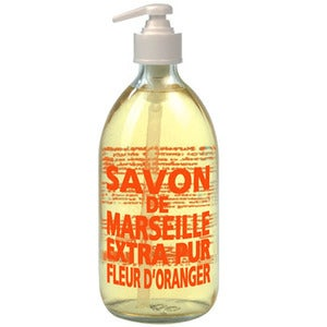 Image of SAVON DE MARSEILLE EXTRA PUR LIQUID ORANGE BLOSSOM SOAP