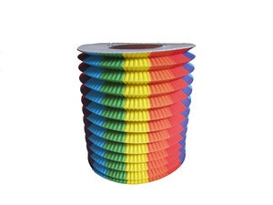 Image of Rainbow Paper Lantern