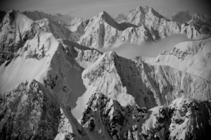 Image of Alaskan Range by Blotto Limited Edition Print
