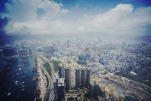 Image of 107 Floors Above HK by 13th Witness Limited Edition Print