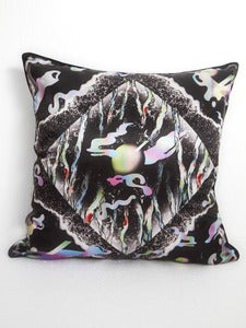 Image of Black sand cushion