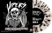 "Image of The Vipers / The Catastrophe<br>'Split'<br>7"" (Vinyl) [Clear w/ Black Splatter]"