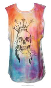 "Image of ""She's Long Gone"" MULTI OMBRE BLEND T-Shirt"