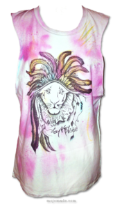 "Image of ""Gypsy Pride"" PINK SPRAY T-Shirt"