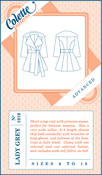 Image of Colette Patterns : Lady Grey