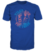 Image of Tyler and the Tribe Converse Shirt - Royal Blue