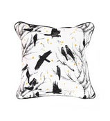 Image of CUSHION SMALL Black Cockatoo