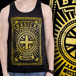 Image of BASICK RECORDS - Ltd Edition 'BASICK London' Vest