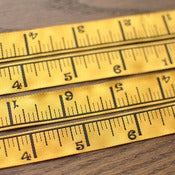 Image of Renaissance Ribbons : Yellow Ruler