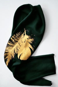 Image of Double Gilded Feather Bandeau
