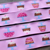 Image of Renaissance Ribbons : Cakes on Pink