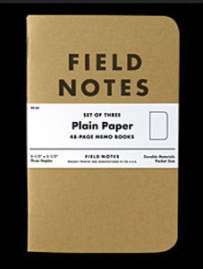 "Image of Field Notes ""PLAIN PAPER"" FN-03"