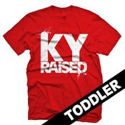 Image of KY Raised Toddler in Red & White