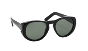Image of Linda Farrow X Dries Van Noten Black Sunglasses