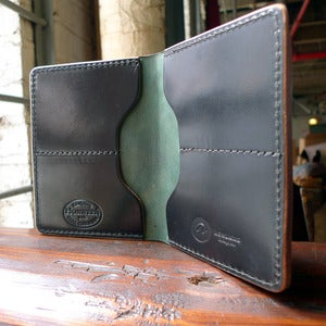 Image of Fat Herbie - Black Shell Cordovan Wallet