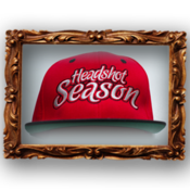 Image of Headshot Season Snapback [ Red ]