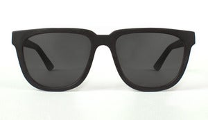 Bonnie / Clyde Matte Black Acetate Handmade in California by Capital Eyewear