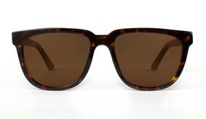 Bonnie / Clyde Tortoise Acetate Sunglasses Handmade in California by Capital Eyewear
