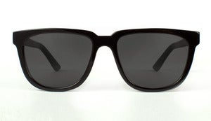 Bonnie / Clyde Black Acetate Sunglasses Handmade in California by Capital Eyewear