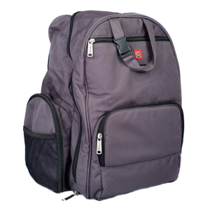 Image of Depot Diaper Bag in Gray