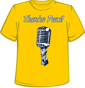 Image of Thanks Paul!