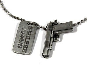 Image of SPECIAL OPS NECKLACE - SILVER