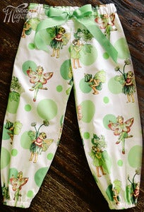 Image of Glitter Fairy Harem Pants - Pistachio