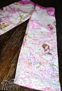 Image of Flower Fairy Jeans in Pink