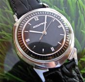 Image of RARE BULOVA ACCUTRON ALPHA in 14K WHITE GOLD! -SOLD!