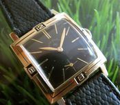 Image of VINTAGE LORD ELGIN MANUAL w/ENAMEL BEZEL - COOL!