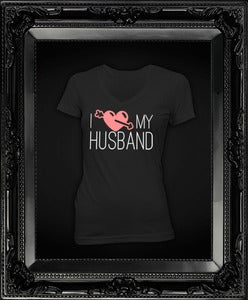 Image of I Love My Husband || Black