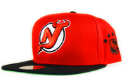 Image of New Jersey Devils Mitchell&amp;Ness Snapback in Red