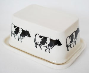 Image of Cows Butter Dish