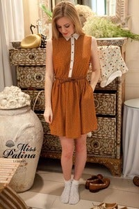 Image of Summer Explorer Dress (Burnt Orange)