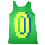 Image of 8 Bit Apparel 'BIG MONEY' in Neon Green