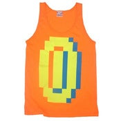 Image of 8 Bit Apparel 'BIG MONEY' in Neon Orange