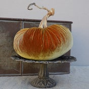 "Image of Velvet Plush Pumpkin 10"" Single"