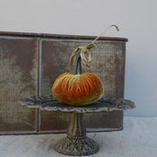 Image of Velvet Plush Pumpkin 4&quot; Single
