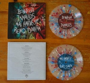 Image of Bonjour/Invalids/Nai Harvest/Reno Dakota | 7&quot; Vinyl