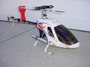 Image of JR Vigor  Large RC Nitro Helicopter Max SX Motor