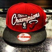 Image of New Era Miami Heat Finals Champs Snap-Back