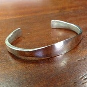 Image of Mens Sterling Silver Cuff