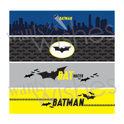 Image of Batman printable Superhero Collection by Wants and Wishes