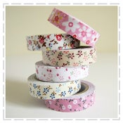 Image of Fabric Tapes - Country Florals