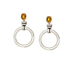 Image of Hana Earrings-Topaz