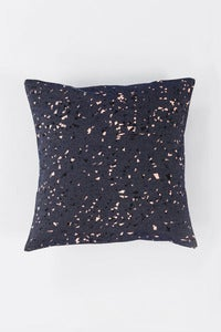 Image of Denim Granit Cushion / peach+black